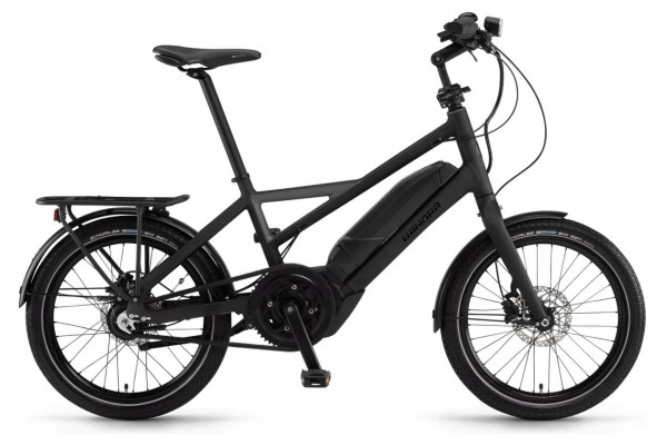 Winora City E- Bike Radius Tour 20 Zoll 8-Gang Nexus - schwarz/ schiefer matt