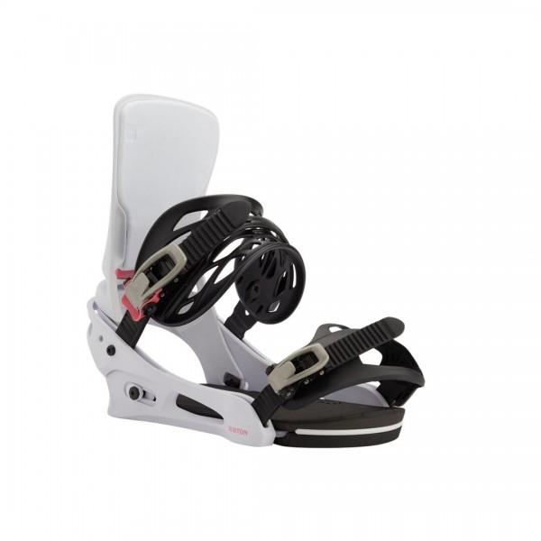 Burton Snowboardbindung Cartel 20/21 - Miami White