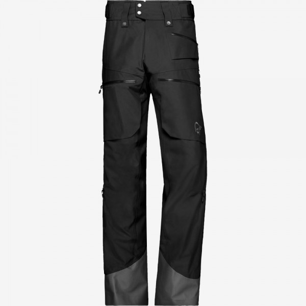 Norrona Lofoten Gore Tex insulated Pants Men - caviar