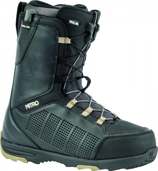Nitro Snowboardboots Thunder TLS 2020 - black