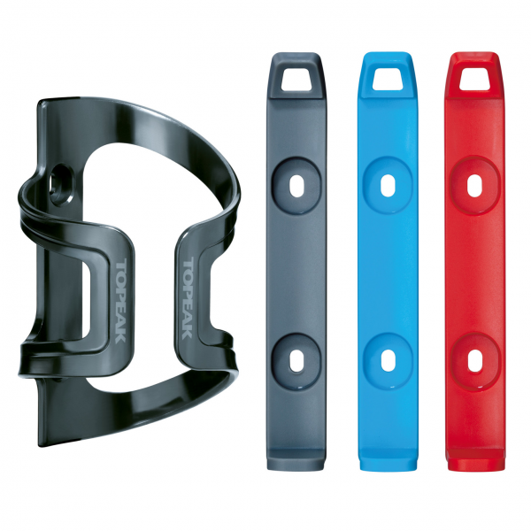 Topeak DualSide Cage EX - grey/red/blue