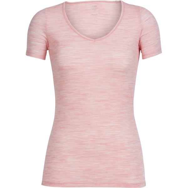 Icebreaker Wmns Siren SS -soft pink hthr