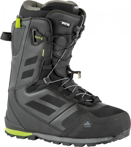 Nitro Touren-Snowboardboots Incline TLS 2021 - black-lime