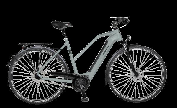 E-Bike Velo de Ville AEB 990 Intube Allround 5-Gang Nexus Freilauf - ice blue