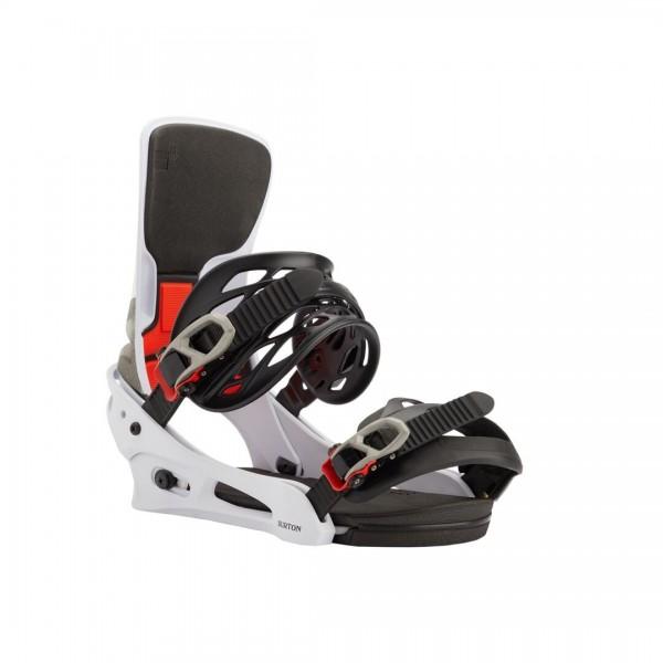 Burton Snowboardbindung Cartel X 20/21 - WHITE/BLACK/MULTI