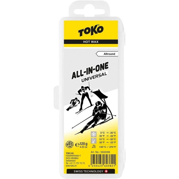 Toko All-In-One Universal Hot Wax 120 g