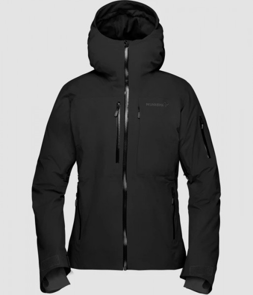 Norrona Lofoten Gore-Tex insulated Jacket Women - caviar