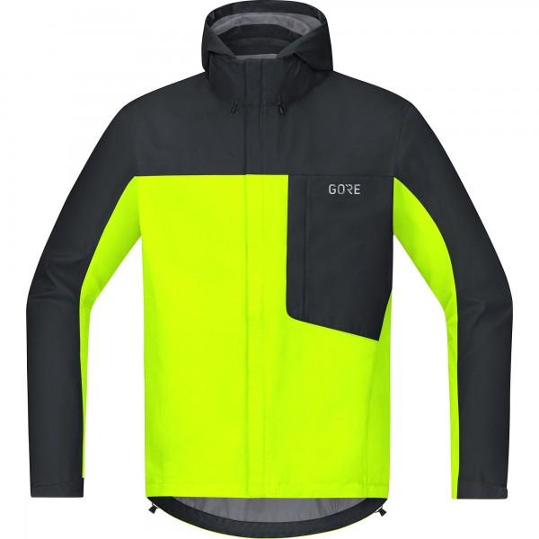 Gore C3 Gore-Tex Paclite Jacket Men - neon yellow/black