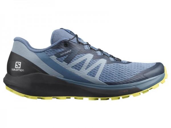 Salomon Trailrunning Schuhe Sense Ride 4 Men - copen blue/black/evening