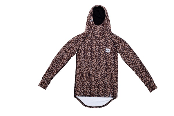 Eivy Icecold Hood Top Damen - leopard