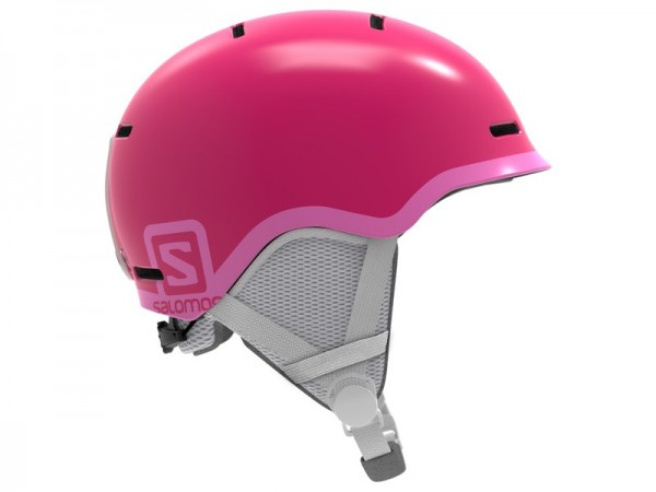 Salomon Helm Grom - glossy pink