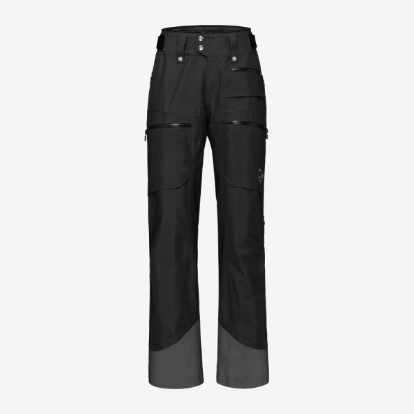 Norrona Lofoten Gore-Tex insulated Pants Women - caviar