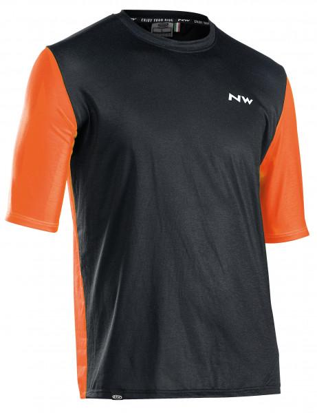 Northwave XTrail Man Jersey Shortsleeve - black/orange
