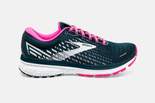 Brooks Ghost 13 Women reflective pond/pink/ice