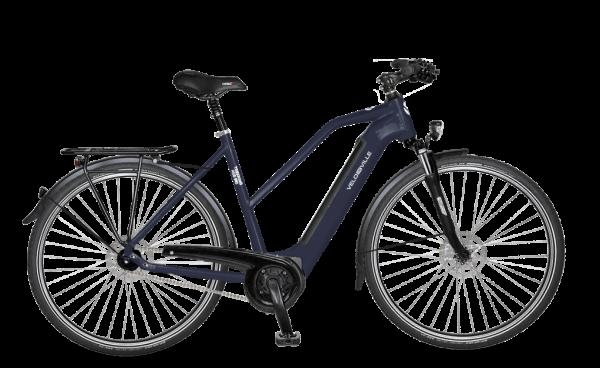E-Bike Velo de Ville AEB 990 Intube Allround 5-Gang Nexus Freilauf - night blue