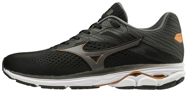 Mizuno Wave Rider 23 Herren -Black/Dark Shadow