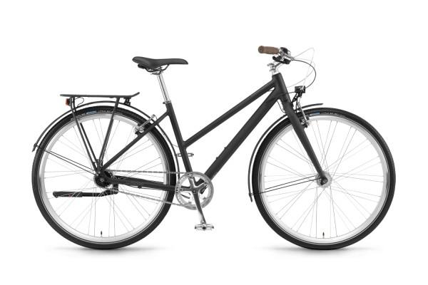 Winora Citybike Lane Damen 2021 - schwarz matt
