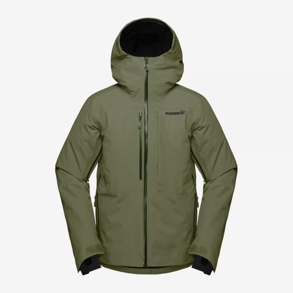 Norrona Lofoten Gore Tex insulated Jacket Men - olive night
