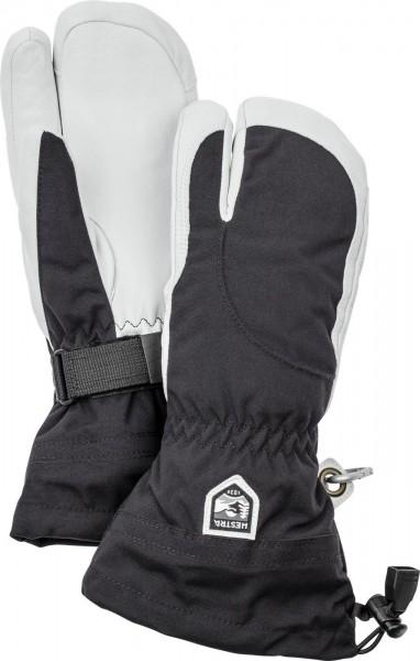 Hestra Heli Ski Female 3-Finger -black/offwhite