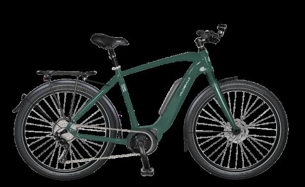 E-Bike Velo de Ville LEB 400 Light-Sport 27,5 11-Gang XT - british green