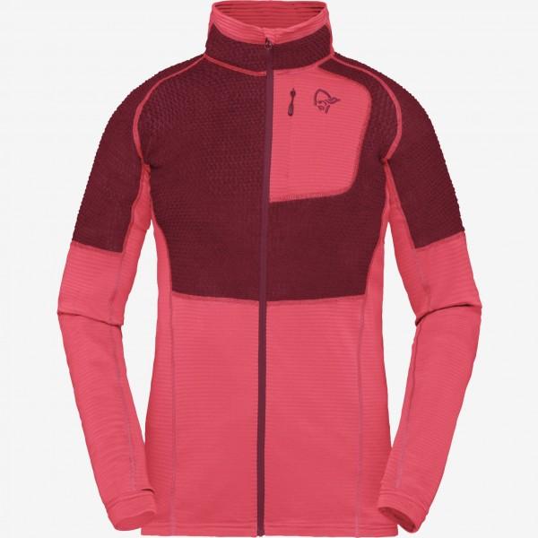 Norrona Lyngen Alpha90 Jacket Women - crisp ruby