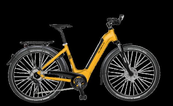 "E-Bike Velo de Ville LEB 990 Intube Sport 27,5"" 11-G Deore - melon yellow"