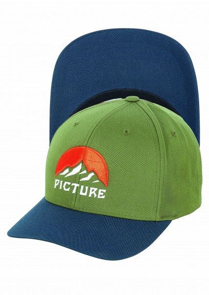 Picture Meadow Cap - army green