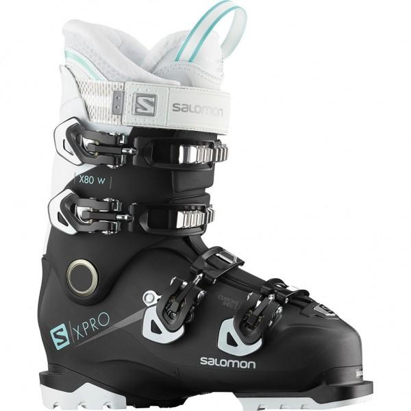 Salomon Boot X Pro X80 CS W - black/white/aruba blue