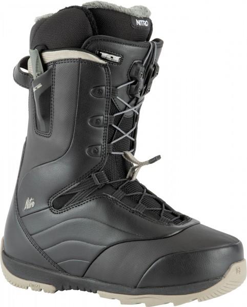 Nitro Damen Snowboard Boots Crown TLS 2021 - black