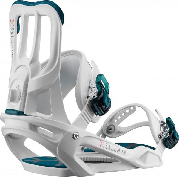 Salomon Snowboardbindung Spell 2020 - white