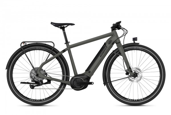 E-Bike Ghost E-Square Travel B4.7 2021 - uni rock/jet black