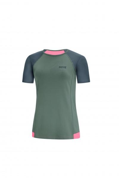 Gore R5 Shirt Damen - castor grey/terra grey