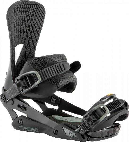 Nitro Snowboardbindung Machine 2021 - carbon grey