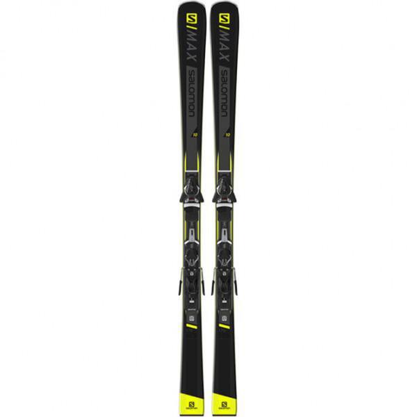 Ski Set Salomon E S/MAX X7 Ti plus Z11 Walk - black/yellow/white