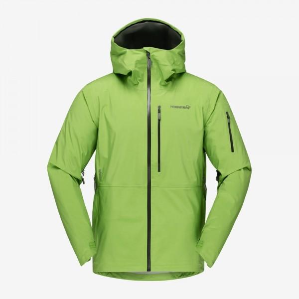 Norrona Lofoten Gore Tex Jacket Men - foliage