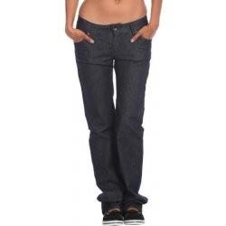 Volcom Damen Jeans Usual Straight Leg - rinse