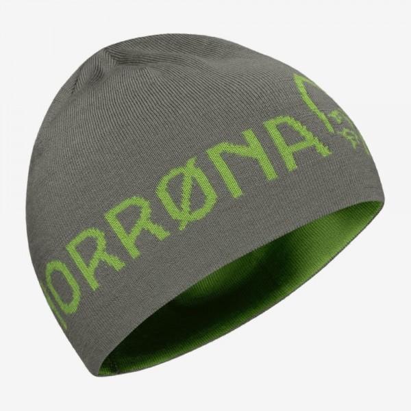 Norrona /29 Thin Logo Beanie - castor grey