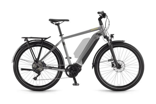 E-Bike Winora Sinus iX10 Herren 2021 - concrete