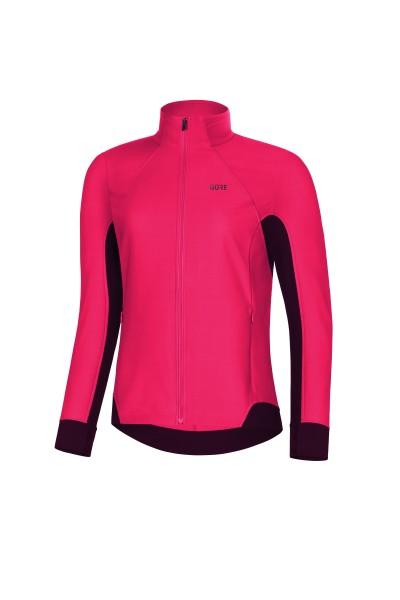 Gore R3 PARTIAL GWS Jacke Damen -hibiscus pink/chestnut
