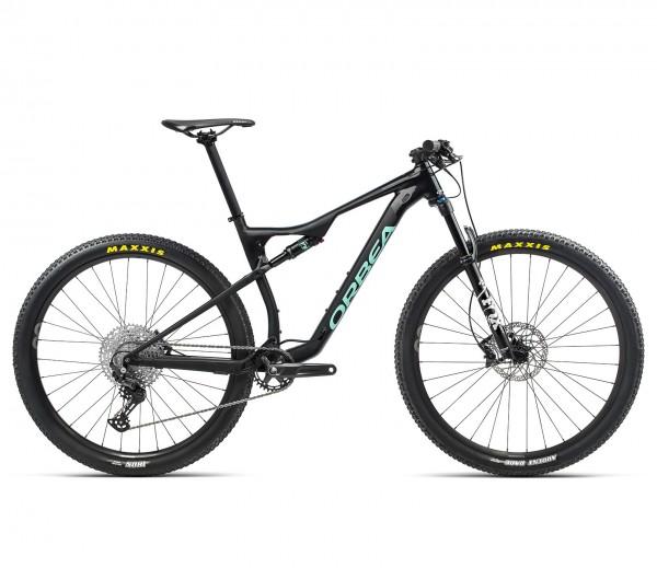 Mountainbike Fully Orbea Oiz H30 2021 - schwarz/eisgrün