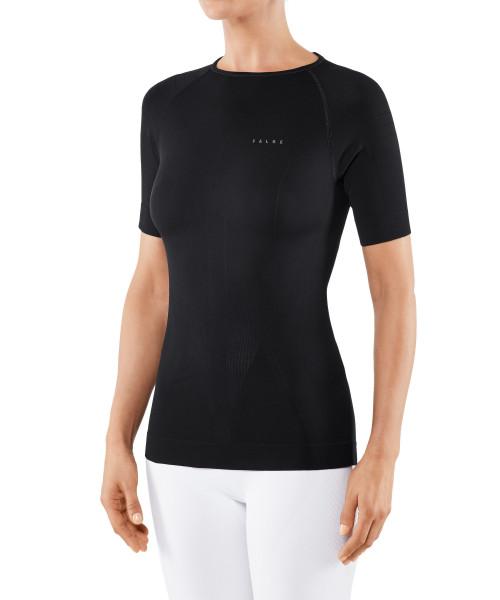 Falke Kurzarmshirt Warm für Damen-schwarz