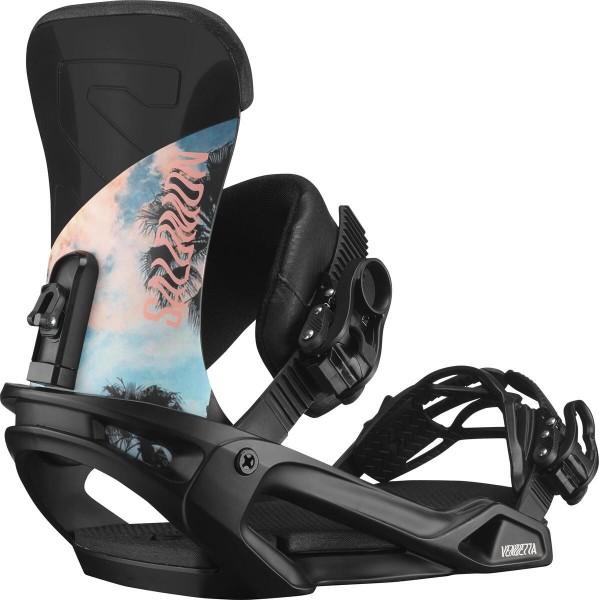 Salomon Snowboardbindung Vendetta 2021 - black venice