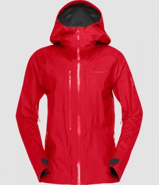 Norrona Gore-Tex Active Jacket Women - jester red