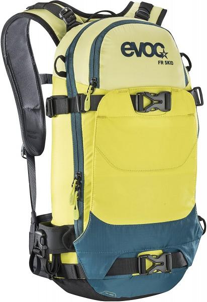 Evoc FR Skid 10 Liter - yellow/sulphur/petrol