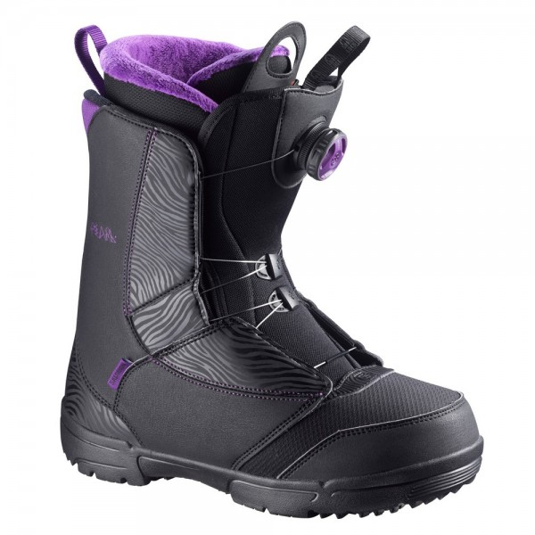Salomon Boot Pearl BOA -black/grape juice