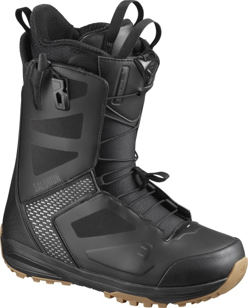 Snowboardboots Herren Salomon Dialogue Wide JP 2020 - black/black/gray