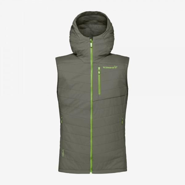 Norrona Lyngen Alpha90 Vest Men - castor grey