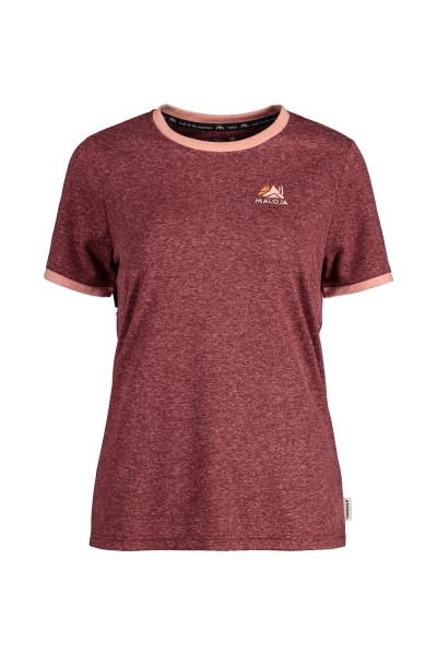 Maloja AndaM. Damen T- Shirt - red monk