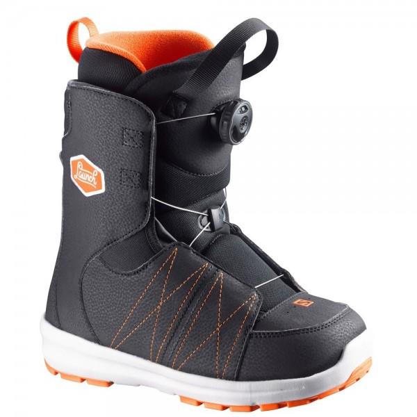 Salomon Boot Launch BOA JR -black