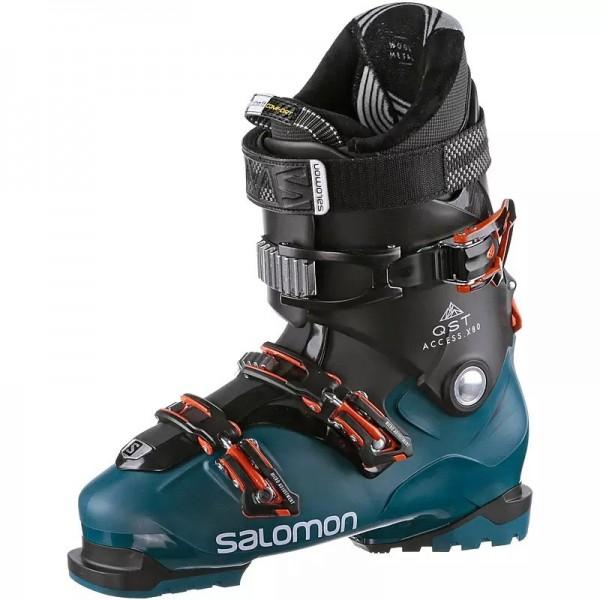 Salomon Boot QST Access X80 IIC - maroccan blue/black/orange